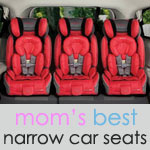 35 best narrow car seats three in a row