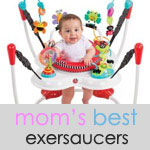 3 best exersaucers activity centers