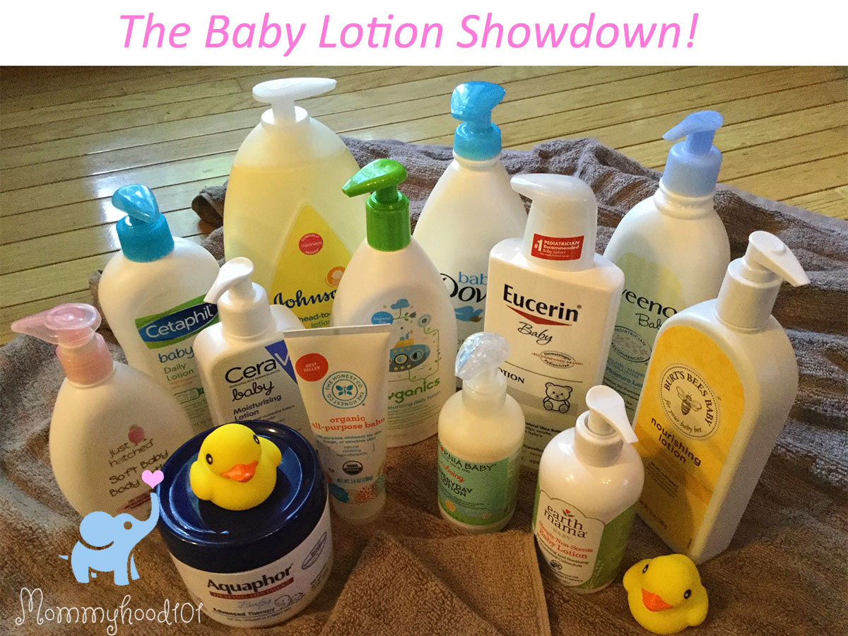 best baby lotion round-up comparison reviews