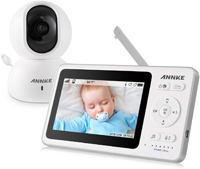 best baby monitor annke wireless video baby monitor bm100