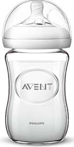philips avent glass bottle