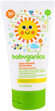 best sunscreen babyganics recall lawsuit pure mineral