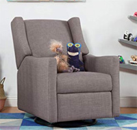 best nursery swivel glider babyletto electronic
