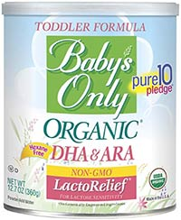 best baby formula babys only organic