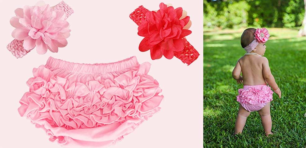best baby girl gifts bloomers headbands
