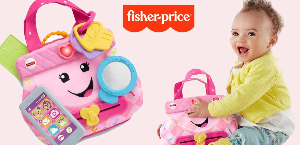 best baby girl gifts fisher price laugh and learn purse