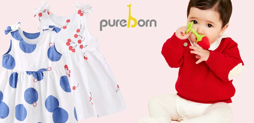 best baby girl gifts pureborn dresses onesies bodysuits jumpers rompers sweaters