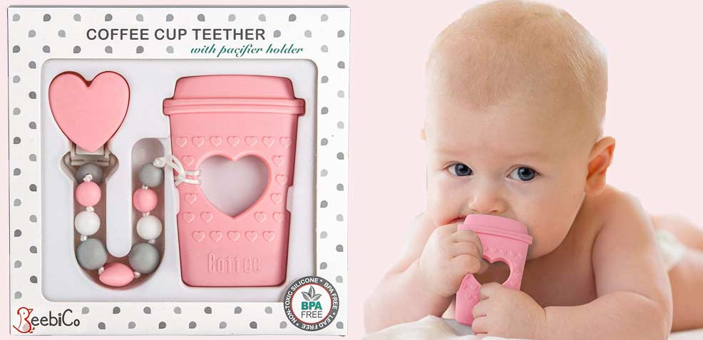 best baby girl gifts teething toy coffee cup