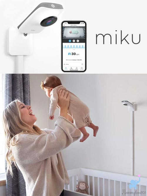 best smart wifi baby monitor miku smart