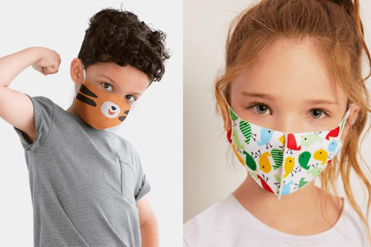 best kids face masks