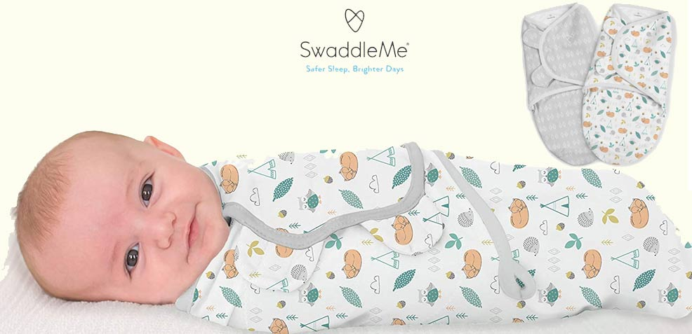 best gender-neutral baby gifts swaddleme blankets