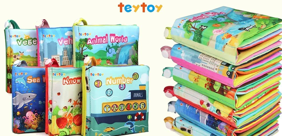 best gender-neutral baby gifts teytoy soft baby books