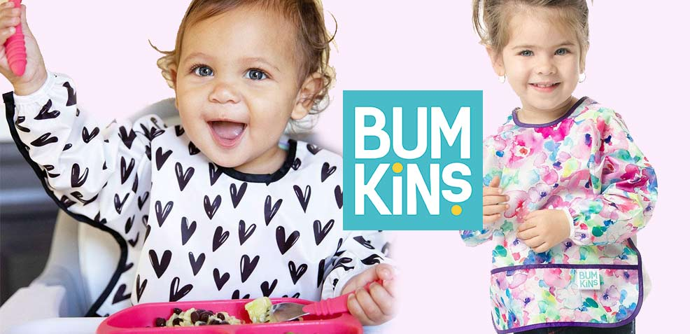 best one-year old girl gifts bumkins sleeved bibs