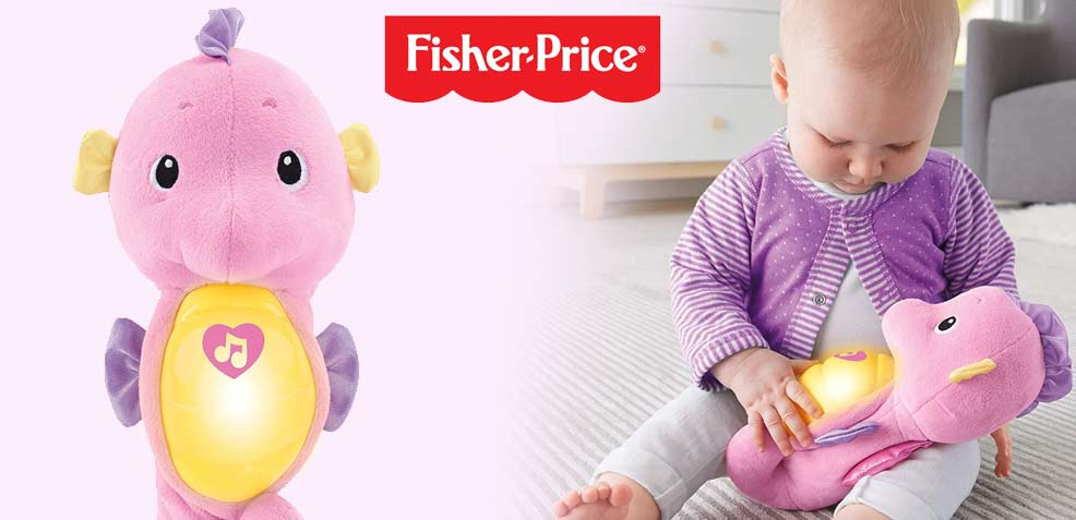 best one-year old girl gifts fisher price seahorse