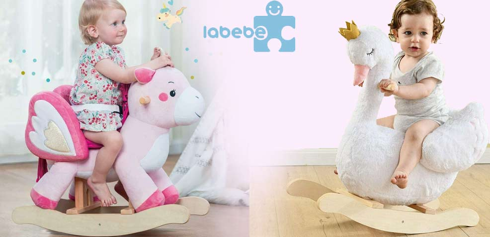 best one-year old girl gifts labebe rocking horses
