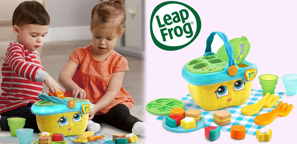 best one-year old girl gifts leapfrog shapes sharing picnic basket