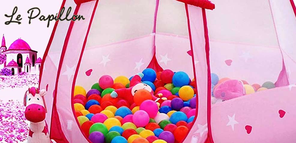 best one-year old girl gifts pink princess tent ball pit