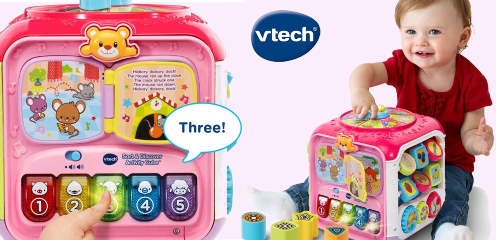 best one-year girl old gifts for girls vtech sort discover activity cube