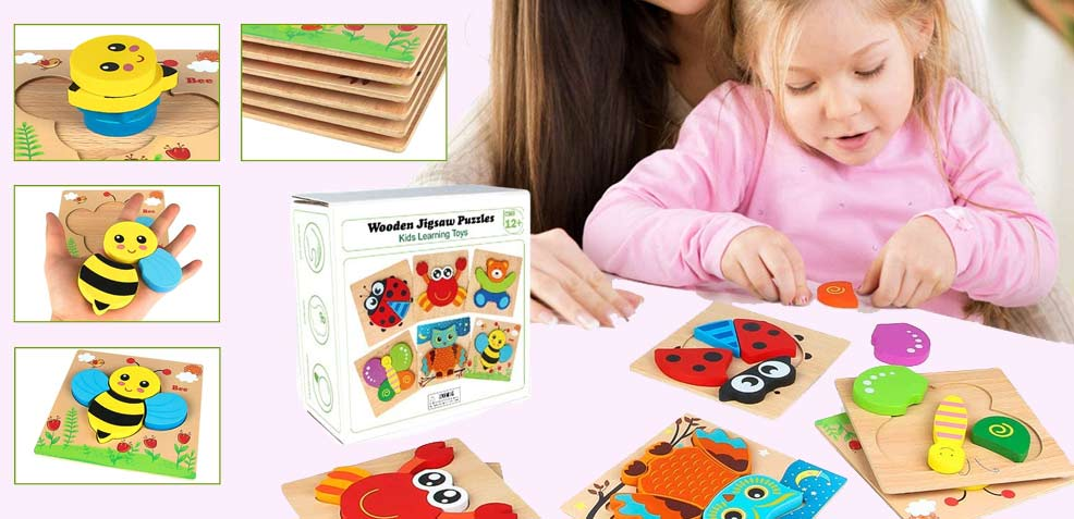 best one-year old girl gifts wooden jigsaw puzzle