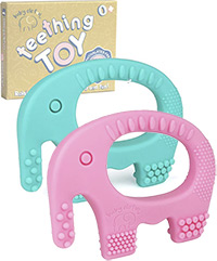 best teething toys elefun elephant