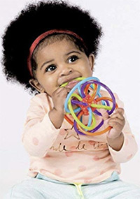 best teething toys manhattan winkel sensory