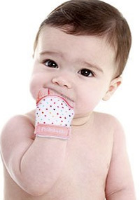 best teething toys nibblit mitten