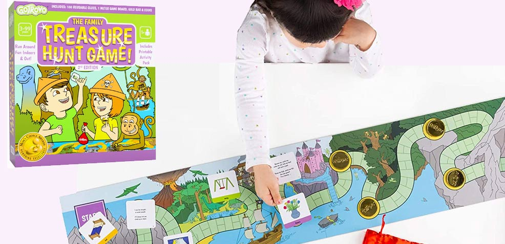 best three-year old girl gifts Family Treasure Hunt Board Game