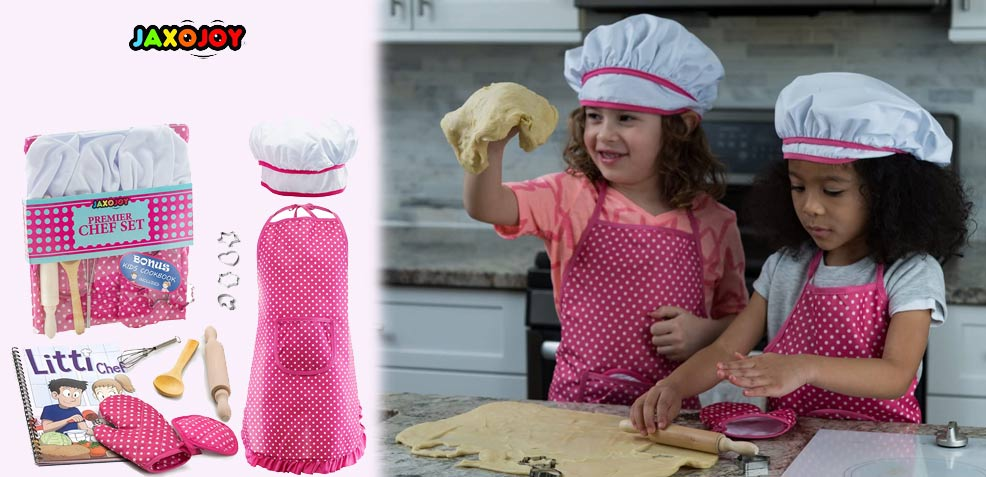 best three-year old girl gifts Play Chef Set