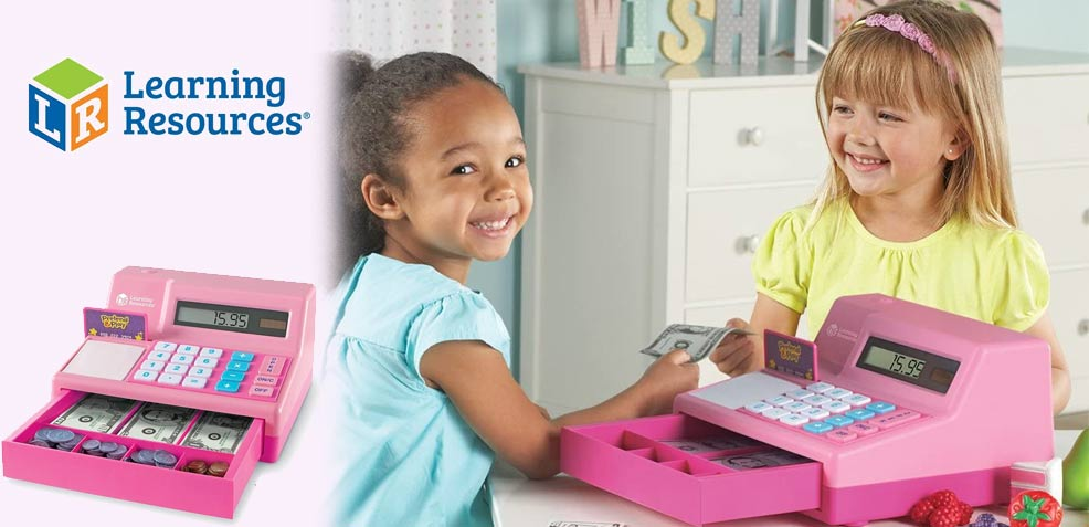 best three-year old girl gifts Learning Resources Play Cash Register