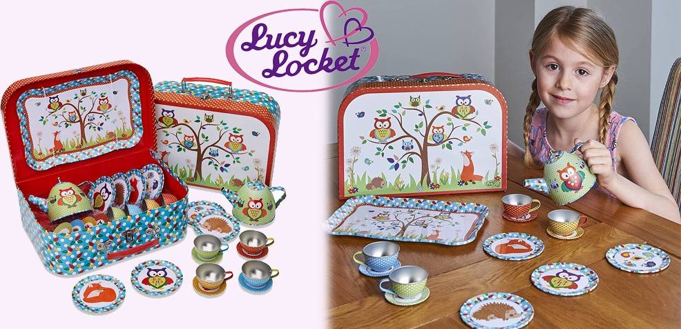 best three-year old girl gifts Lucy Locket Tea Party Set