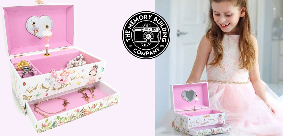 best three-year old girl gifts The Memory Building Co. Jewelry Box