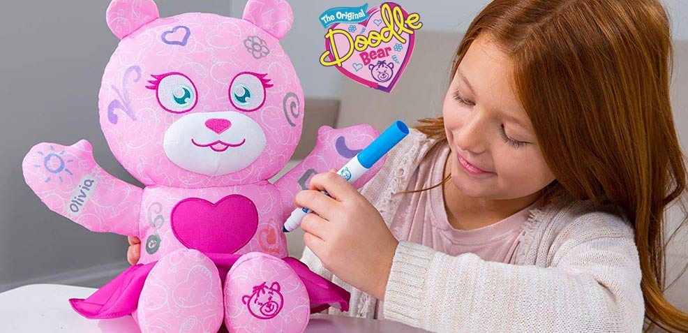 best three-year old girl gifts The Doodle Bear