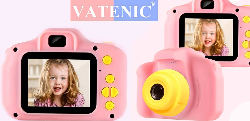 best three-year old girl gifts Vatenic Kids Camera