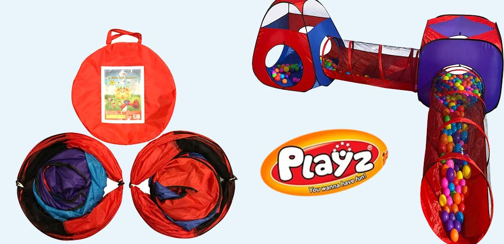 best two-year old boy gifts playz pop-up tunnel