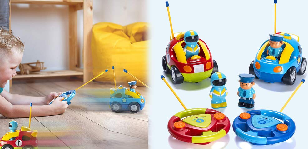 best two-year old boy gifts toddler remote control cars