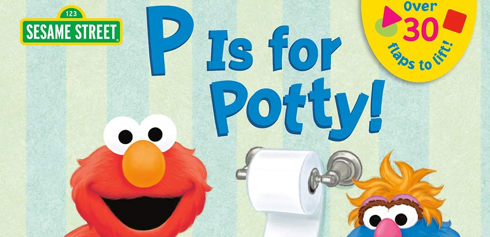 best two-year old boy gifts sesame street potty book