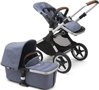 best luxury stroller bugaboo fox with bassinet