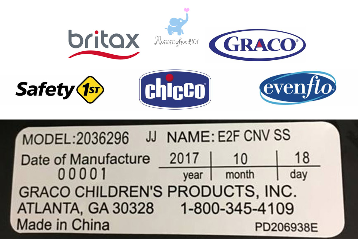 car seat expiration dates graco britax evenflo safety 1st chicco