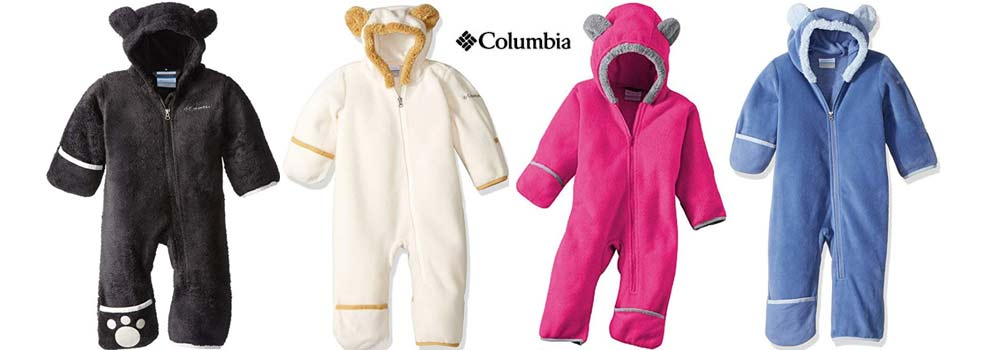 columbia bunting baby insulation layer winter snowsuits