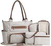 soho grand central diaper bag