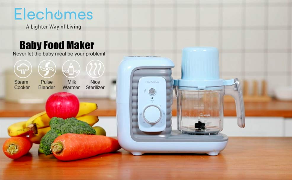 review of the elechomes baby food maker processor