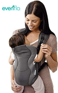 best baby carrier evenflo breathable