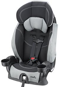 best booster car seat evenflo chase