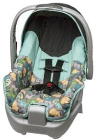 cheap car seats evenflo nurture