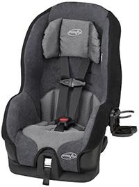 best budget convertible car seat evenflo tribute
