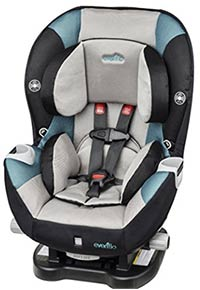 best budget convertible car seat evenflo triumph