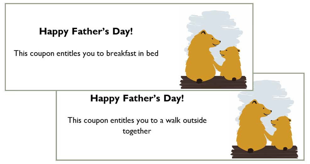 fathers day printable coupons for children