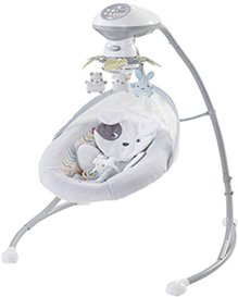 best baby swing fisher price cradle
