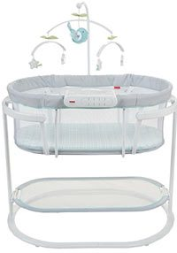 best baby bassinet fisher price soothing motion