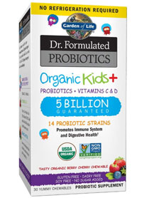 best kids probiotics garden of life chewables
